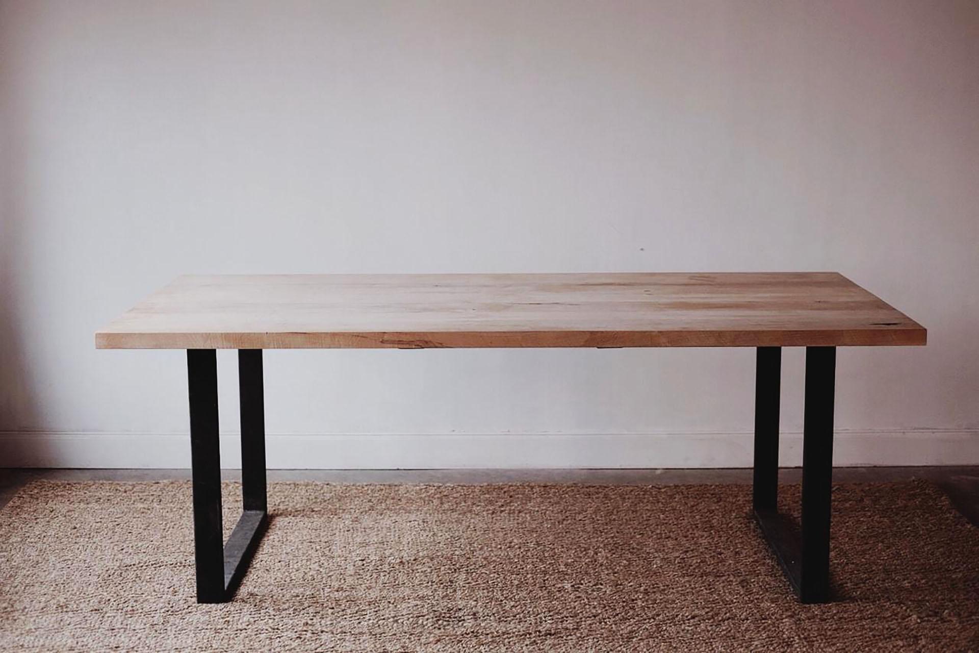 Braylon Square Table | Modern Industrial Office Desk | Atlanta ...