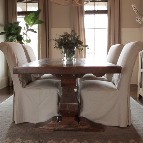 Hand Crafted Dining Room Tables