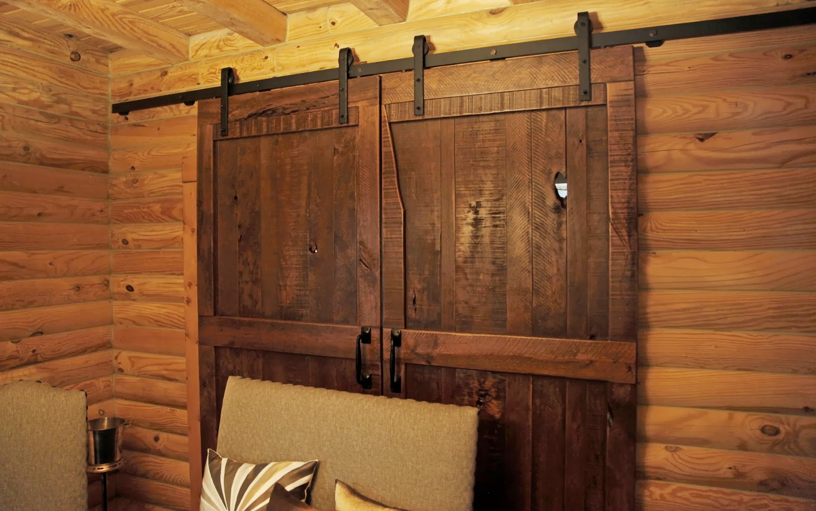 Custom sliding hanging barn doors atlanta ga denver co for Hanging barn door in house