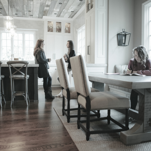 Beautiful Rustic Trades Furniture | Rustic Distressed Reclaimed Dining ...