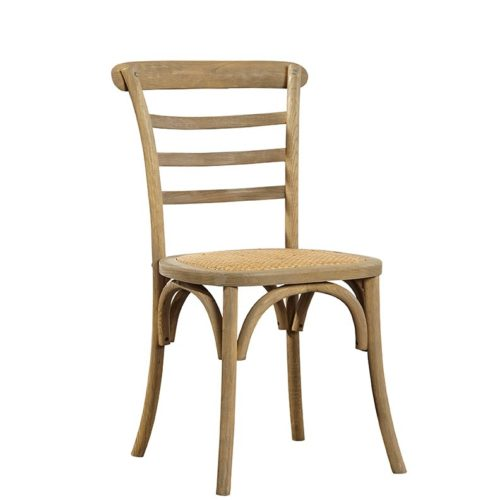 Ladder Back Side Chair natural