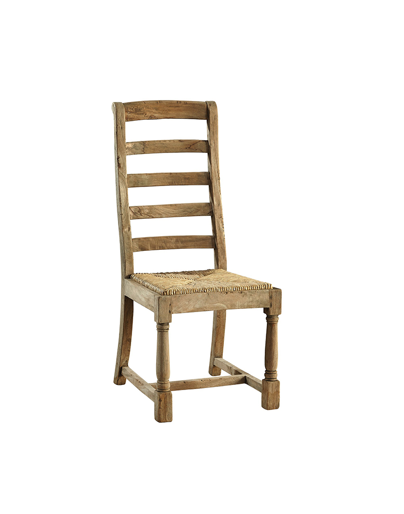 Ladder back side chair intercon dining room family Ladder back chairs