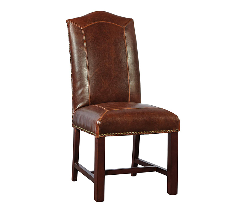 Leather Dining Chair Rustic Trades Furniture