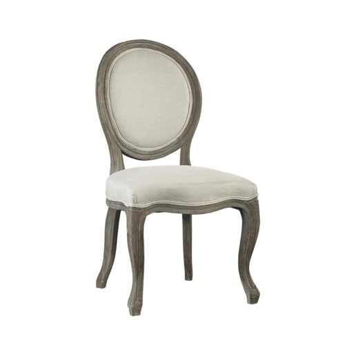 round-back-french-chair
