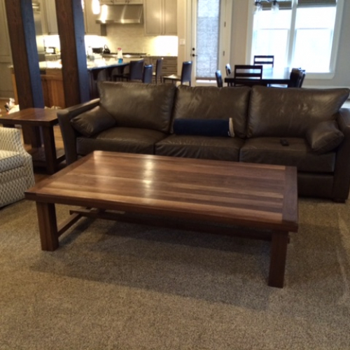 Clayton Coffee Table Rustic Trades