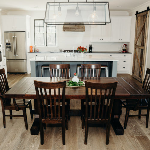 Rustic Trades Furniture | Rustic Distressed Reclaimed Dining Kitchen ...