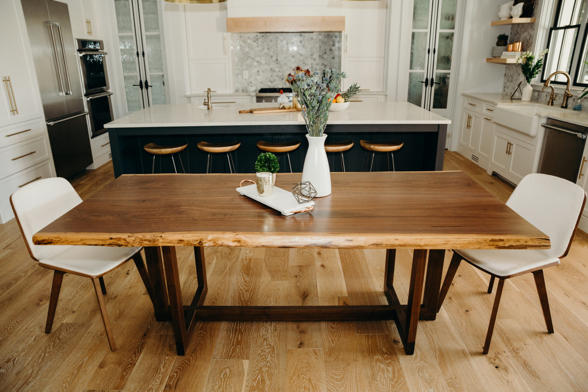 Live Edge Dining Conference Table